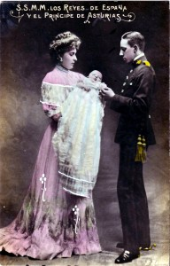 Alfonso XIII y su familia