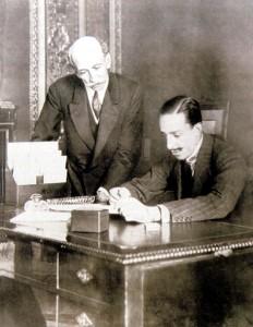 Alfonso13 y Eduardo Dato